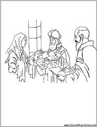 Zacharias And Elizabeth Coloring Page