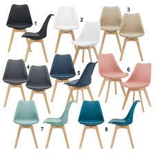 en casa 2x esszimmerstuhl bürostuhl küchenstuhl stuhl