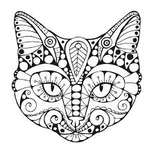 Coloring Page Of A Cat Amazing Free Pages For Seasonal Colouring