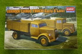 German Cargo Trucks (Early & Late) Academy 1/72 Kit 13404 | ARCANE ...