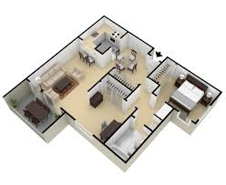 Bedroom Condo Floor Plans Photo by One Two Bedroom Apartments For Rent Springwood Apartments