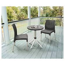 Patio Bistro 240 Assembly Instructions by Chelsea Outdoor Bistro Set Charcoal Keter Target