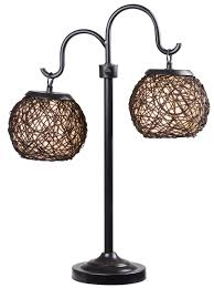 Table Lamps At Walmart by Evolution Lighting Llc Catalina Blue Glass 3 Way Gourd Table Lamp