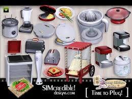 Sims 3 Kitchen Set Decor Objects