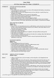Semi Truck Driver Resume Examples Awesome Tow Rh Jonahfeingold Com Fire