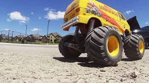 100 Monster Truck Lunch Box RC Van Donuts With Driver View YouTube