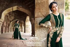Saheli Couture Embroidered Fancy Latest Dress Designs For Teenage Young Girls Womens 3
