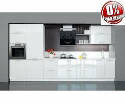 küche einbauküche nach maß hochglanz weiß ohne e geräte neu
