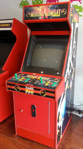 Mortal Kombat Arcade Cabinet Restoration by Mortal Kombat 2 Arcade Machine