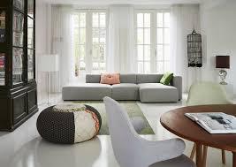 modernes graues sofa im wohnzimmer mit bild kaufen