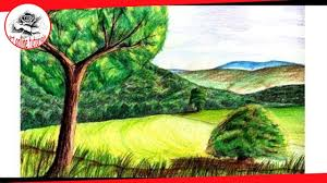 How To Paint A Realistic Landscape With Colored Pencil Fine Art Chip Pencils