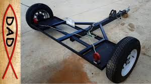 100 Truck Camper Dolly How I Built A Tow From Scraps Around The House YouTube