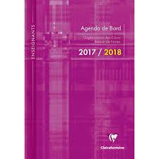 bureau enseignant agenda 2017 2018 agenda de bord pour enseignants 22x30cm