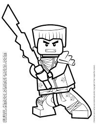 Ninjago Coloring Pages Free Printable