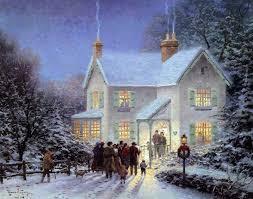 Thomas Kinkade Christmas Tree Train by 222 Best Thomas Kinkade Images On Pinterest Paintings Thomas
