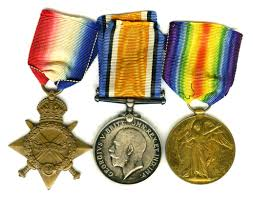 Most Decorated Soldier Uk by First World War Medals British Medals And Decorations