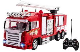 100 Fire Truck Kids RC Rescue Engine Remote Control Large Toy Fully