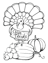 Thanksgiving Color Pages Coloring Ideas