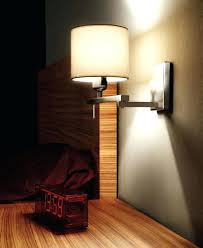 led wall reading light lighting fuse chrome switched contemporary
