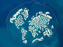 Sinking Islands Global Warming by Dubai U0027the World U0027 Islands Are Slowly Coming Back To Life