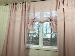 set 2 vorhänge gardinen 140x250 ösen ösenvorhang rosa