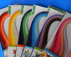 720 Total Strips Quilling Paper Strip Art Craft Rainbow 3mm X 15 Precision Cut Approx Long