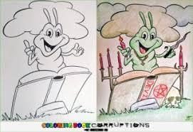 14 More Coloring Book Corruptions