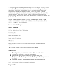 Download Free Resume Group Fitness Instructor Najmlaemah Of Our Sample Trainer Example