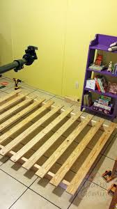 how to build a platform bed for 40 diy video tutorial crafty
