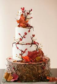 Beautiful Rustic Wedding Cakes Design