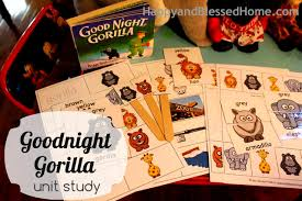 Ideas For A Goodnight Gorilla Unit Study Including Free Printable Pack