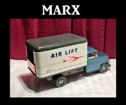 Details About Marx Allstate Airlift Express Delivery Box Truck With Scissor  Lift