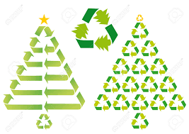 Chicago Christmas Tree Recycling christmas trees with recycling symbols vector royalty free