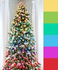 4 Christmas Tree Color Palette Ideas
