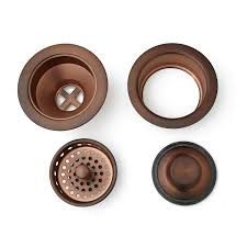 Install Sink Strainer Basket by Kitchen Sink Drain Set Basket Strainer U0026 Disposer Flange And