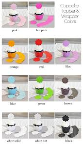 Winter Cupcake Wrappers Toppers Set Of 24