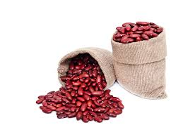 Download Red Beans In Bag Stock Image Of Isolated Crop