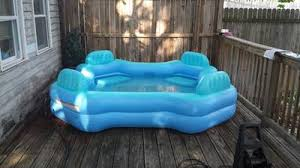 Inflatable Sofa Walmart Canada by Intex Swim Center Family Lounge Pool Walmart Com