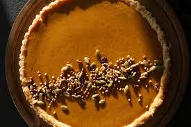 Epicurious Pumpkin Pie by Thanksgiving Pumpkin Tart Eyeswoon