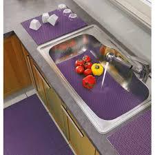 tapis d evier de cuisine tapis égouttoir à vaisselle tubulo prune achat vente tapis d