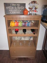 Storkcraft Dresser And Hutch by Coffee Wine Station Looks Great Repurpose Anything