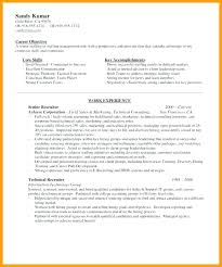 Outsourcing Recruiter Resume It Sample Of Hr Writing Example Objective Examples