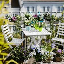 Balcony Design Ideas Plant Folding Table