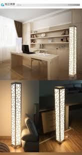 1 pcs 1 2m modern brief wood plastic floor l bedroom lights