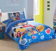 mickey mouse twin bedding cool mickey mouse bedding for boys kids