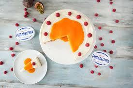 philadelphia torte mit maracuja soße no bake