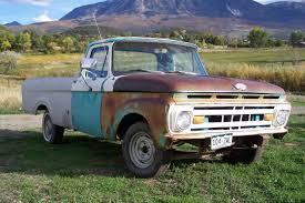 100 Ford Unibody Truck For Sale 1961 F100 UNIBODY Long Bed WITH BUMPERS GOOD GLASS 1961 1963