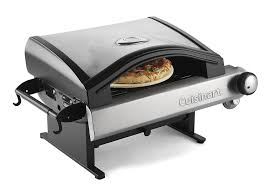 amazon com cuisinart cpo 600 alfrescamore portable outdoor pizza