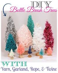 Handmade Bottle Brush Trees First Youll Need To Gather A Few Tools Nothing Major