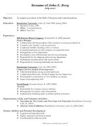 Category Manager Resume Genealogy Procurement Example